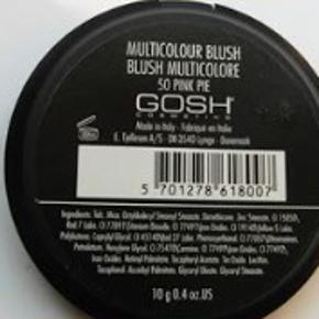 Gosh Multicolour Blush i farven 50 Pink Pie. To stk. haves.   Oprindelig pris: Kr. 199,- Pris på Trendsales: kr. 150,- pr. stk. v/afhentning eller samlet kr. 275,- v/afhentning