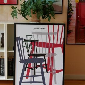 Billede fra FDB møbler med ramme.  Måler 60 x 80 cm Nypris 600kr Sælges for 300kr Skal afhentes