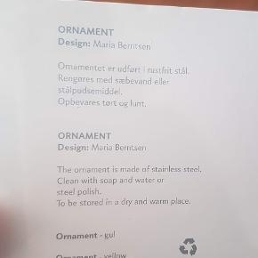 Skøn juleophæng fra Georg Jensen. Æsken er uåbnet. Pris 75,- Kan hentes 4140 Borup eller sendes pp.