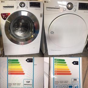 LG Vaske-maskine og tørretumbler med god energimærkning. Købt i 2015 og sælges grundet flytning.
