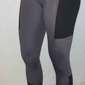 Fede tights, sidder godt til. De har kun været prøvet på, aldrig brugt til noget sport eller liggende.