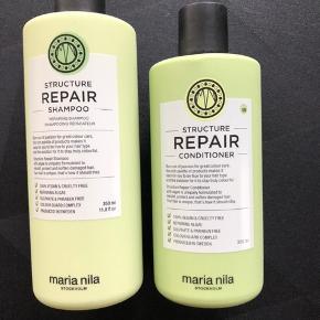 Maria nila  Shampoo og balsam. Repair. Aldrig brugt, købt i Magasin. Købspris 400 kr.