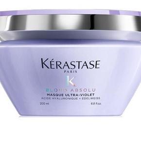 Varetype: Shampoo og kur Størrelse: Alm Farve: - Oprindelig købspris: 570 kr.  Kérastase Blond Absolu Bain Ultra-Violet  Shampoo og kur  Lige købt og kun prøvet en enkelt gang så de er helt nye Super lækre produkter