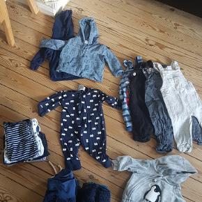 Indeholder: 4x trøjer 12 x bukser 9 x bodies 3 x natdragter 1 x skjorte