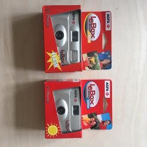 To engangs kameraer ( old School ) film ... dato overskredet den de er testet og vildt flotte billeder kommer af dem :-)