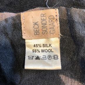 Ingen brugsspor 🌸 silke og uld