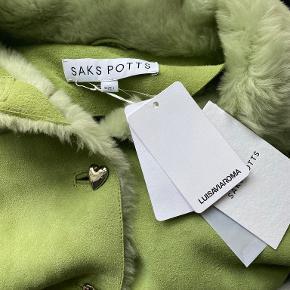 Saks Potts pels- & skindjakke