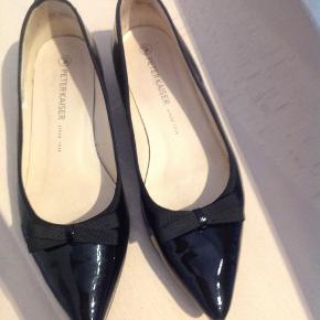 Fine sorte Peter Kaisher sko. Der står 7 i skoen