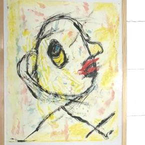 Varetype: Maleri Størrelse: 30x43 cm Farve: Multi Prisen angivet er inklusiv forsendelse.  Sjove, skønne malerier, inklusiv træramme,  jeg får oploadet nogle flere så følg med på siden. Dette billede er solgt, men lignende kan males.  Kan sendes med yderligere porto eller leveres inden for rimlig afstand fra Hellerup :)