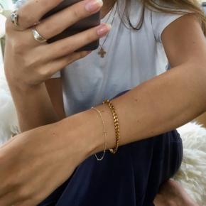 Lush Lush guldbelagt armbånd ca 16 cm.  Prisen er inkl fragt  np 599     Line & Jo, Camille Brinch, Julie Sandlau, Jane Køng, Pico, Anni Lu, Maanesten, Stine A