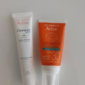 Begge produkter er for skrappe til min hud, men da jeg har brugt lidt af begge cremer, sælger jeg dem billigt.