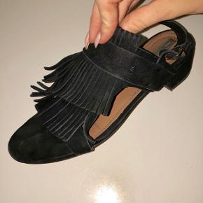Ruskinds sandal med hæl. Super fede!