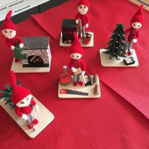 Så er de fantastiske nisser klar til Julen, og til at komme ind i jeres stuer .  Plader med 1 nisse på 40kr  Afhentes i Roskilde , vil gerne sende, men minimum 2 nisse