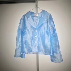 Hosbjerg - Jamine Blazer Blue Vaskemærke sidder ikke i
