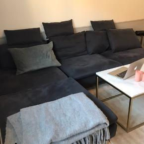 Ikea sofa. Modellen SODERHAMN.  Kan skilles fra hinanden og betrækket kan tages af og vaskes.