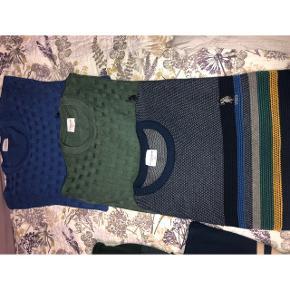 Helt nye, den grønne og blå er str L og de andre er XL