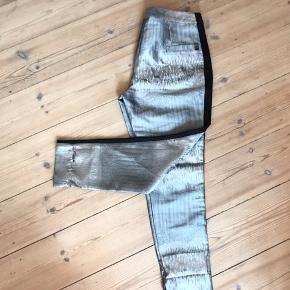 Sølv glimmer bukser