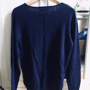 Dark Navy J&J Sweater. Shown as size L, but fits a size M. Sleeve length - 70 cm Bottom to top - 67 cm. Used only a few times, and in great condition.  PM for any further info :)