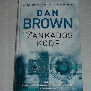 Brand: * MÆNGDERABAT-UDSALG * Varetype: Dan Brown Tankados kode - krimi Størrelse: - Farve: -  Dan Brown Tankados kode Aldrig læst, da jeg har fået to udgaver.   * * * MÆNGDERABAT-UDSALG * * *  Se mine andre annoncer med øreringe, halskæder, armbånd, smykke-sæt, bøger, tøj, dvd-film og meget andet:   1 stk/par. 40kr pp.  2 stk/par. 75kr. pp.  3 stk/par. 95kr. pp. Portoen er bare et gæt ;)   * * * Se også mine andre annoncer * * *