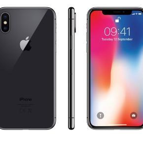 IPhone x 64 GB Jeg sælger min iPhone x, som er helt ny og ubrugt, alt medfølger også kvittering. Jeg gav selv 8000kr for den, jeg er åben for bud - men da den er helt ny og aldrig har været brugt, ønsker jeg ingen skam bud:)