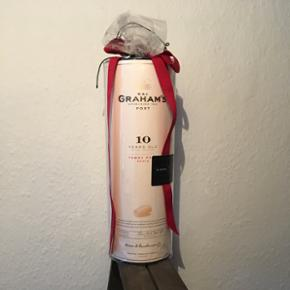 Graham's 10 years old tawny port. Portugisisk portvin, 10 års lagring.