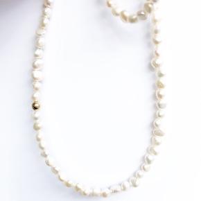 Ellyr Copenhagen Gina White Pearl Necklace. Kvittering haves