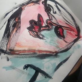 Sælger disse malerier UDEN Ramme. A3 str.   Følg med på min profil, flere maleier  T.By.Art