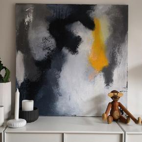 Maleri malet af ut. Har malet mange malerier igennem årerne og flere på bestilling efter ønske om farver og evt tekst. Har derudover haft flere udstillinger. Pris tillægges fragt