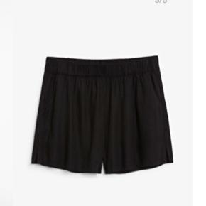 Sorte shorts store i størrelsen 😊