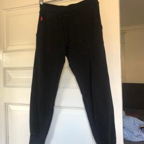 Sorte sweatpants fra Ralph Lauren