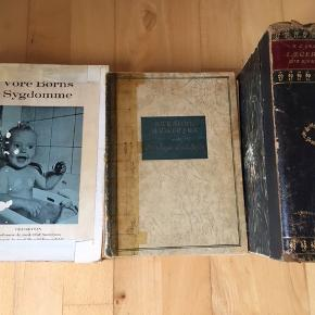 Gamle læge bøger