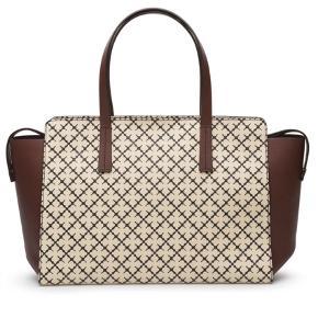 Varetype: Shopper Størrelse: Stor Farve: Brun Oprindelig købspris: 2500 kr.  Helt ny Malene birger taske.  Dustbag medfølger