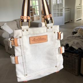 Limited edition LV taske fra 2006 Globe Shopper kollektionen. Aldrig brugt  Har dsv mistet dustbag, kvittering, aut kort osv. i flytterod. Jeg står 100% indenfor ægteheden på tasken.  Billede af verifikationsnummer på sidste billede.