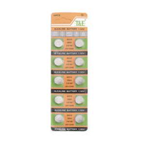 Knapcellebatterier AG10