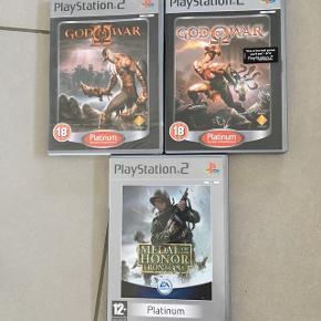 3 stk PlayStation 2 spil🎮 Det ene spil har endnu ikke været åbnet👍🏻 De 2 andre har været brugt ganske lidt. Sælges hver for sig til 55 kr pr.stk Eller alle 3 stk for 125 kr  Brug dem evt.til kalender eller adventsgave🎄🎄🎄  Sender med DAO📦koster 38kr