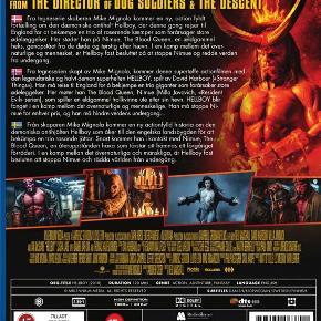 0469  Hellboy - 2019 - Blu-Ray - Dansk Tekst - I FOLIE   Fra tegneserie skaberen Mike Mignola kommer en ny, action fyldt fortælling om den dæmoniske antihelt Hellboy, der denne gang rejser til England for at bekæmpe en trio af raserende kæmper som forårsager store ødelæggelser. Her støder han på Nimue, The Blood Queen, en ældgammel heks, genopstået fra de døde og tørstig efter hævn.  I en kamp mellem det overnaturlige og mennesket, er Hellboy fast besluttet på at stoppe Nimue og redde verden fra undergang.
