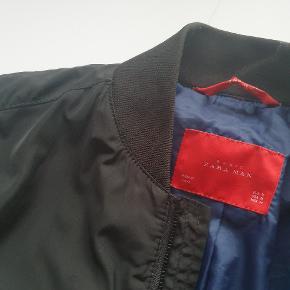 Zara bomber jacket top kvali, god til efterår og forår