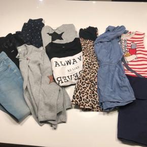 Fin tøjpakke - forskellige størrelser, men svarende til 122/128. Mærker som Koin, Milk CPH, H&M, Name It. Afhentes 6715 Esbjerg N (Vester Nebel) eller i Østerbyen.