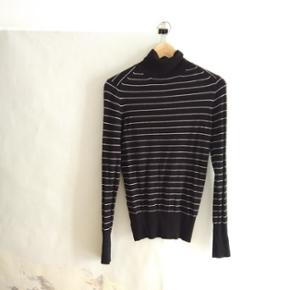 Size med striped turtleneck (zara)