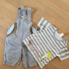 Varetype: Shorts Farve: Blå Prisen angivet er inklusiv forsendelse.  Shortall samt t-shirt