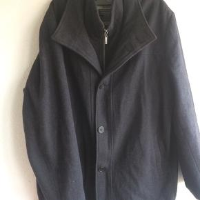 Uld jakke, mørkegrå