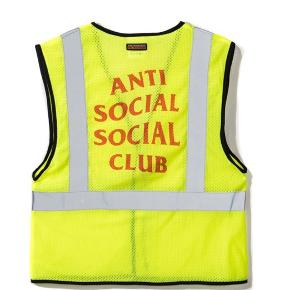 "ANTI SOCIAL SOCIAL CLUB  ""LIT VEST""  F/W 2017  BYD, PRISEN KAN SAGTENS FORHANDLES"