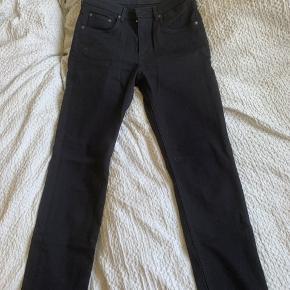 Arket cotton stretch fitted denim, in black size W28. ✨