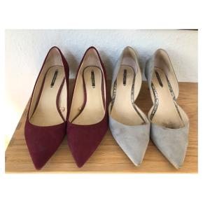 Fede Kitten heels. Sælges for 100; stk. Se mine annoncer for flere lignende og andre gode mærker. Giver gerne mængderabat  Følg mig på Instagram @2nd_love_preowned_fashion
