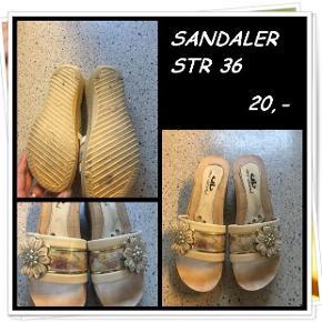 Sandaler str 36