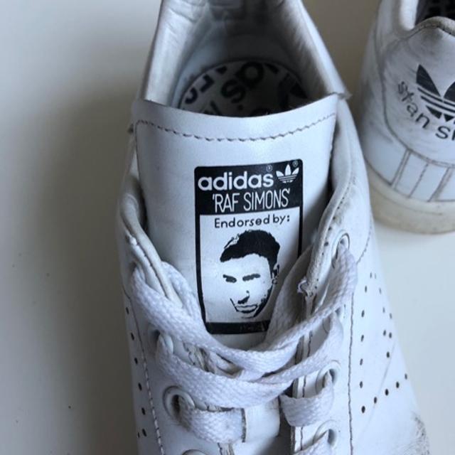 Adidas raf simons Stan smiths blue sneakers rare