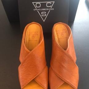 Lækre sandaler. Læder og lædersåler. Aldrig brugt. Original emballage. Kan stadig købes i butikker på udsalg til 1469kr. Originalpris 2099kr.  Kun salg via køb nu Fast pris