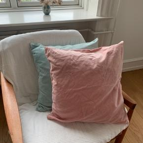Two cushion cases from ikea, small stains (attached images), price for both of them