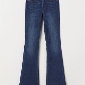 Mini flare high waist denim jeans Størrelse: 29 W 32 L
