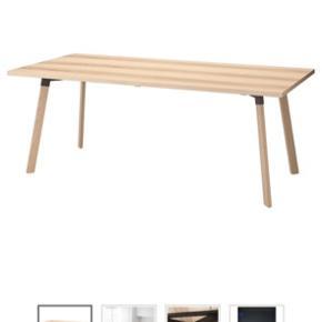Sælger dette fine spisebord fra IKEA. Det er fra serien ypperlig som er lavet i samarbejde med Hay.  Det har kun været i brug et par gange og står desværre bare og samler støv nu.  200x90 cm